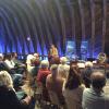 La Charolaise - Conférence Charolaise au Petit Louvre  - un public attentif !