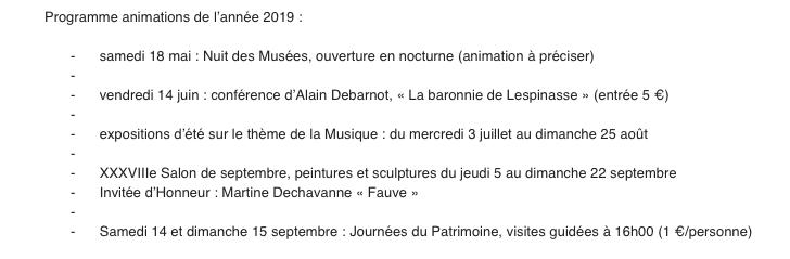 Programme saison petit louvre 2019