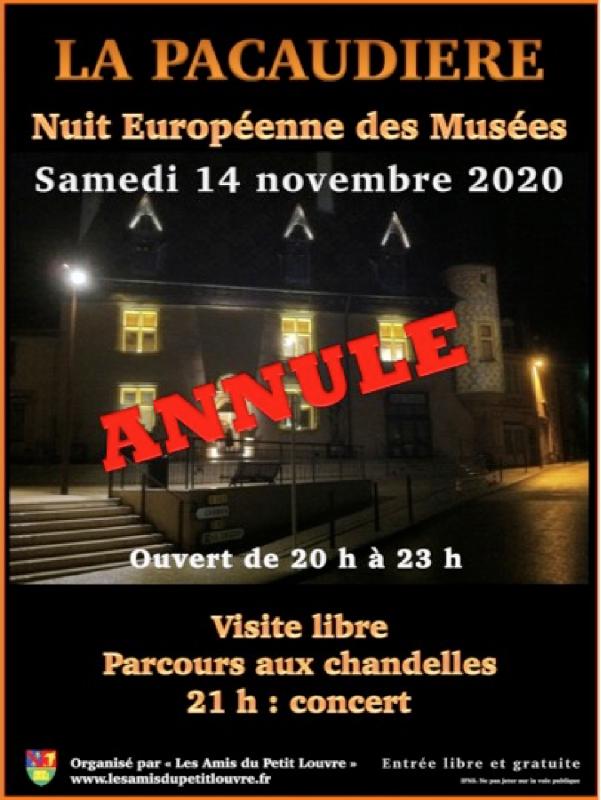 Annulation Nuit des Musées 2020