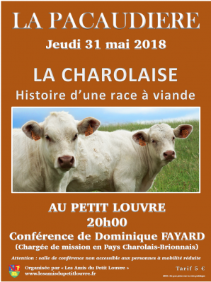 Confe rence charolaise 2018
